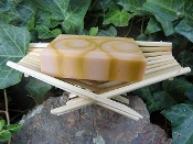 Recycled Chopsticks Folding Soap Dish- Natural color